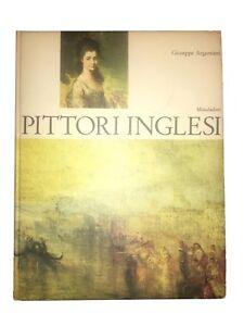 Pittori-Inglesi-Giuseppe-Argentieri-Mondadori-1964-libro-arte