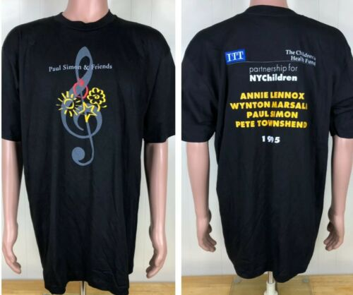 RARE Vintage 1995 PAUL SIMON & FRIENDS t-shirt Con