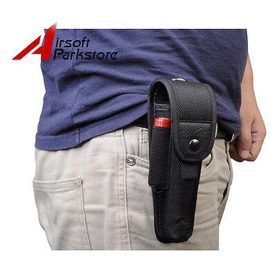 Nylon Holster Holder Belt Pouch Case Carry Bag For Led Flashlight Torch 14.5*3.5