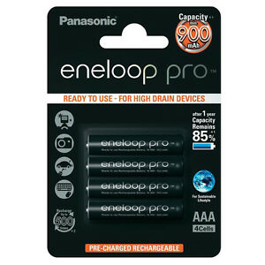 4x-Panasonic-Eneloop-Pro-AAA-Rechargeable-LSD-NiMH-Batteries-JAPAN-MADE