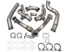 Turbo Manifold Header Downpipe Kit For 98-02 Chevrolet Camaro LS1 Motor NA-T
