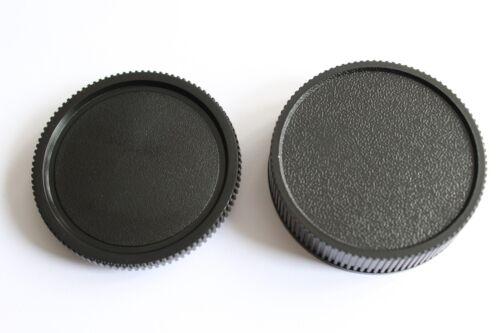 Leica R objetivamente rückdeckel & carcasa tapa, gorra, rear lens & body cap Leica R