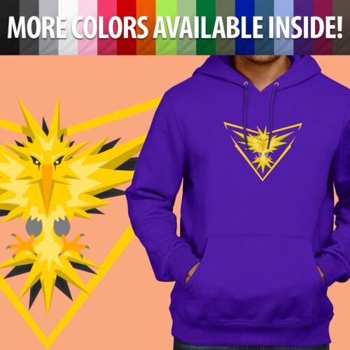 Unisex Pullover Sweatshirt Hoodie Sweater Print Legendary Bird Zapdos Video Game