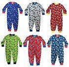 OFFICIAL Garçon Personnage Combinaison Pyjama De Nuit 1 2 3 4 5 6 7 8 Ans
