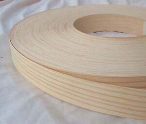 Pine-Iron-on-Edging-Pre-Glued-Wood-VeneerTape-40mm-wide-Various-Lengths