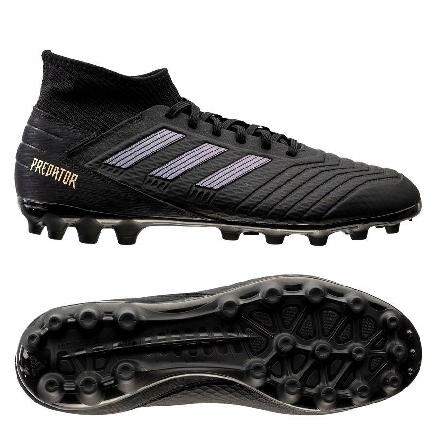 De hombre Zapatos Botines De Fútbol Adidas Projoator 19.3 AG botas De Fútbol Negro EF8984 Nuevo