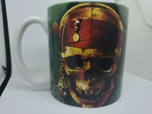 Disney-Pirates-of-the-Caribbean-Large-Coffee-Cup-Mug-Excellent