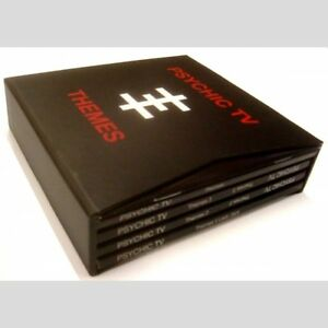 PSYCHIC-TV-Themes-6-CD-boxset-Basildon-CD-Throbbing-Gristle-Coil-Thee-Majesty