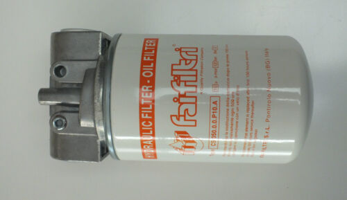 """Hydraulic Oil Spin on 25 micron Return Filter Assembly 3//4/"""" BSP Ports 100Lt//Min."""