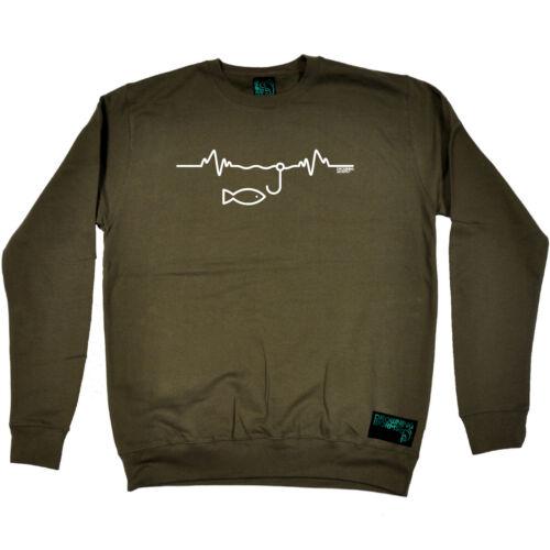Pêche Sweat-shirt Funny Novelty Jumper Top-impulsion de pêche
