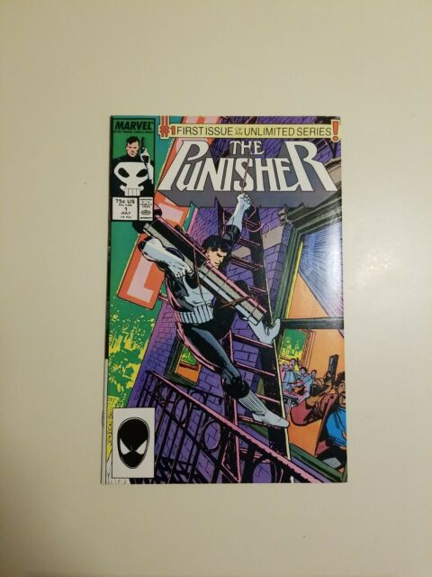 The Punisher #1 (Jul 1987, Marvel) VF