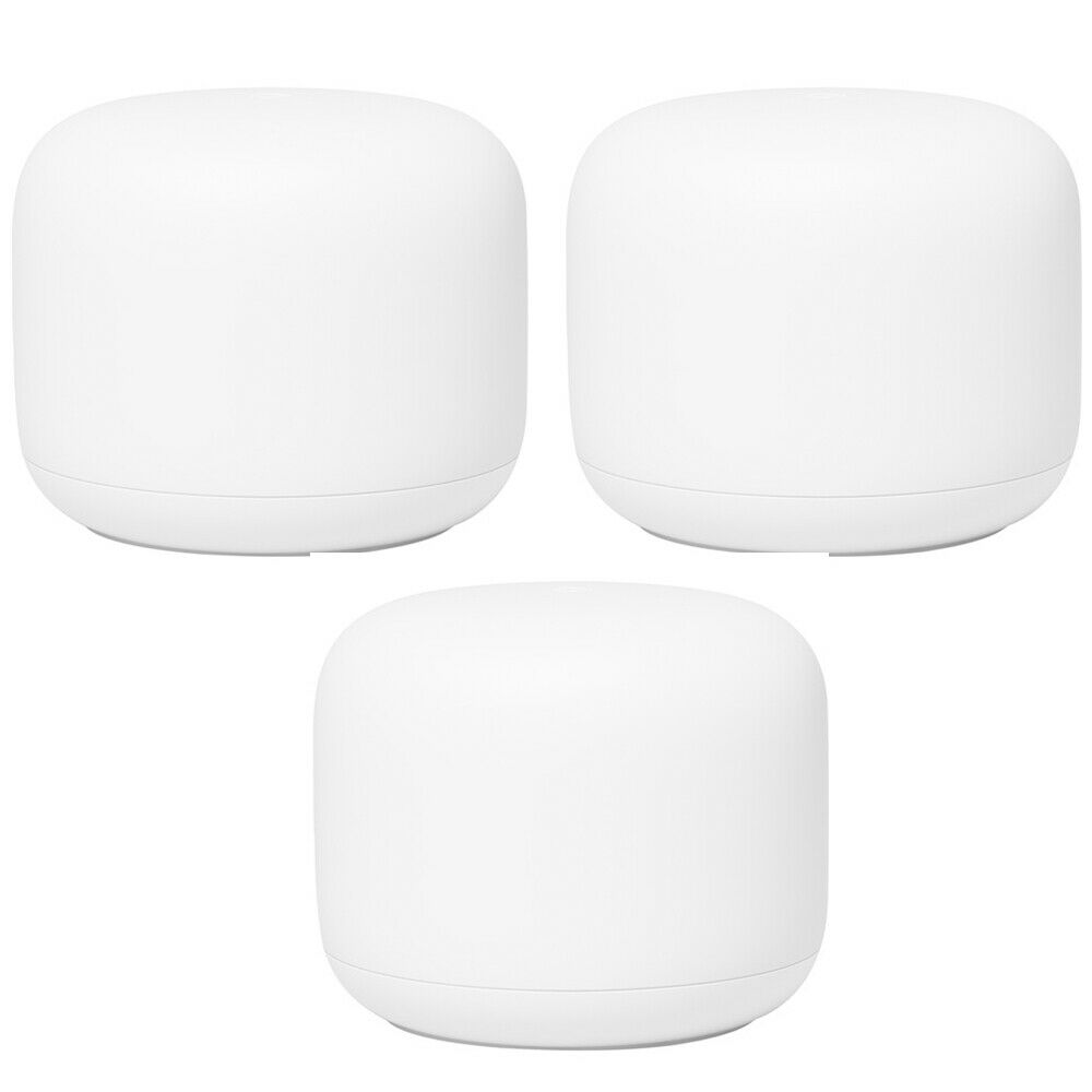 Google Nest Wi-Fi Router (GA00595-US) - (3-Pack). Buy it now for 299.00