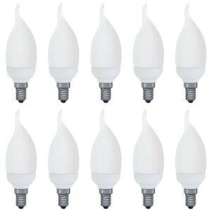 10-x-Paulmann-883-33-Energiesparlampe-Kerze-Cosy-5W-E14-warmweiss