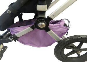 Black Under Seat Storage Basket for Bugaboo Cameleon 1 2 3 Frog Baby Strollers