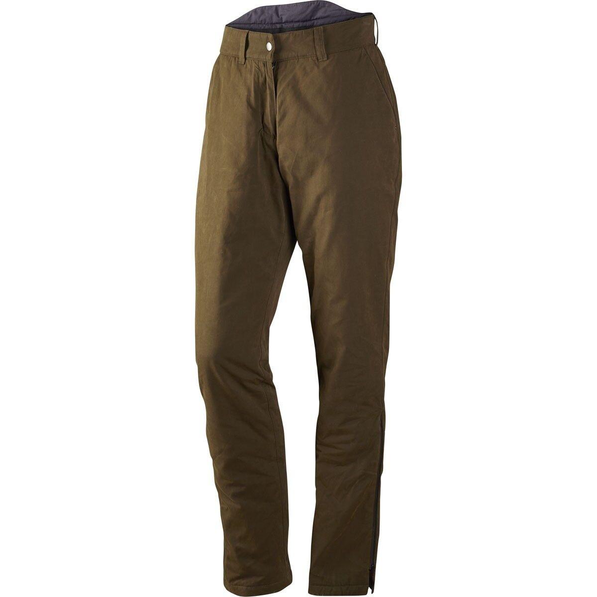 Harkila Vigdis Pantalones Tamaño (29 ) Señoras verde de sauce impermeable de la cintura
