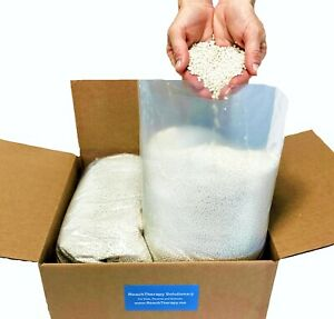 4 lb Virgin HDPE Plastic Pellets Cornhole Bags Weighted Blankets Shooting Bags