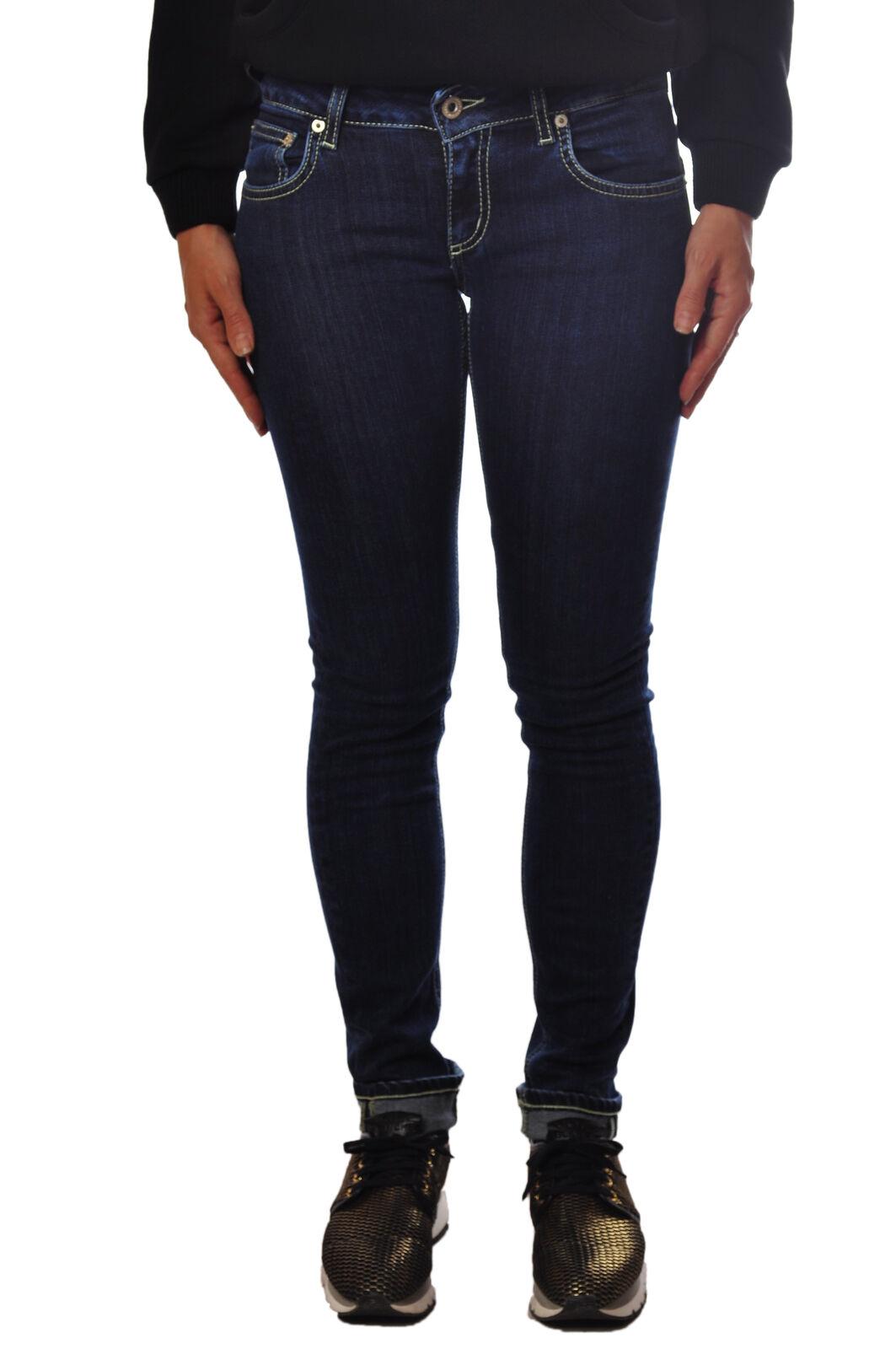 Don dup - Jeans-Pants-slim fit - Woman - Denim - 2327220A194152