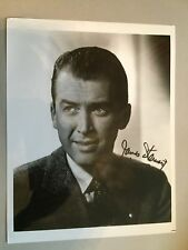 Superb JAMES STEWART signed 8x10 with good signature. GENUINE autograph with COA
