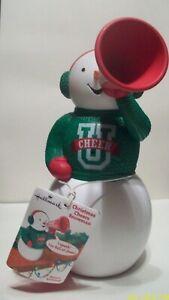 Hallmark-CHRISTMAS-CHEERS-SNOWMAN-Cheerleader-NEW-Motion-Activated-SOUND-2012