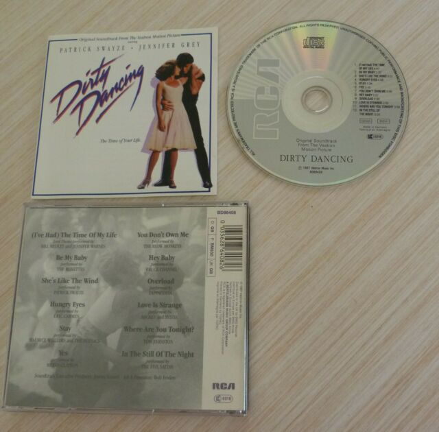 CD ALBUM BOF DIRTY DANCING MUSIQUE DE FILM THE TIME OF MY LIFE 12 TITRES 1987