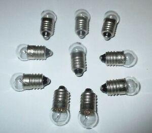 Gluehbirne-E10-fuer-Krippen-Puppenhauslampen-12-Volt-10-Stueck-NEU