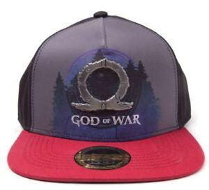 God-Of-War-Metall-Abzeichen-Logo-Bedruckt-Baseball-Kappe-Snapback