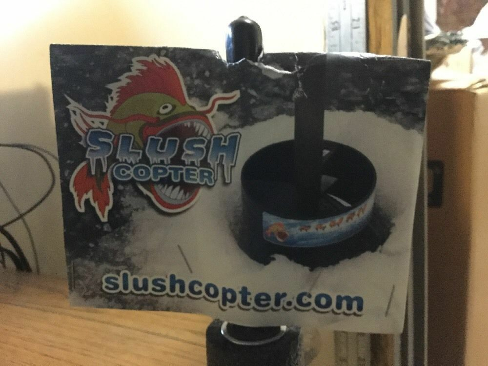 Slush Copter ice fishing slush removal