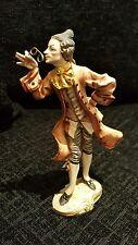Vintage Figurines Michal Negrin With Genuine Swarovski Crystals Baron Gentleman