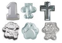 Wilton Aluminum Cake Pans, 16 Designs