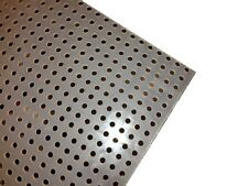 Polypropylene Perforated Sheet 18 Thick X 32 X 48 14 Dia Hole Straight
