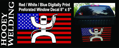 HOOEY WELDING decal sticker colors white or black not avaiable in stores NEW