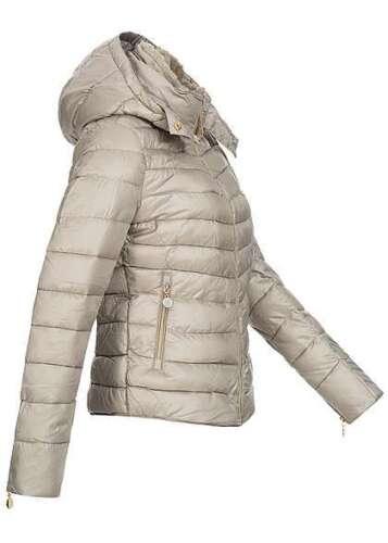50/% OFF B16112354 Damen 77 Lifestyle Jacke mit abnehmbarer Kapuze Taschen grau