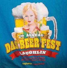 DAS BEER FEST FESTIVAL Beer Maid LAUGHLIN NV 2015 Men's Medium T Shirt PIN UP
