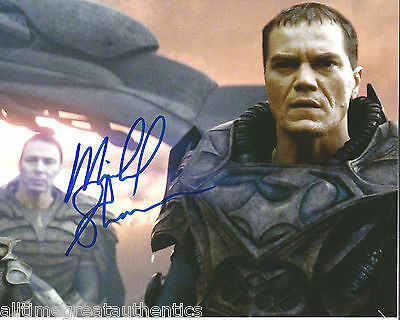 Television Nice Actor Michael Shannon Signed Man Of Steel 8x10 Photo W/coa General Zod Superman Entertainment Memorabilia