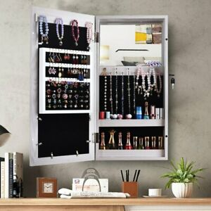 Hanging Wall Mount Photo Display Jewelry Armoire Cabinet ...
