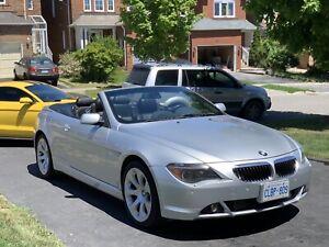 2004 BMW 6 Series 6 speed Manual