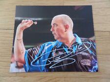 Phil Taylor PDC Dart Weltmeister Autogramm Foto Original Top Super Preis selten