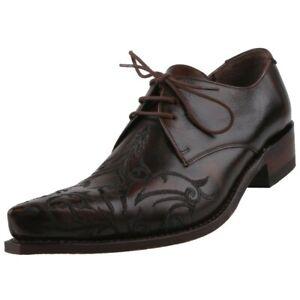 Details zu NEU Sendra Boots Herrenschuhe Schuhe Halbschuhe Schnürschuhe Lederschuhe Western