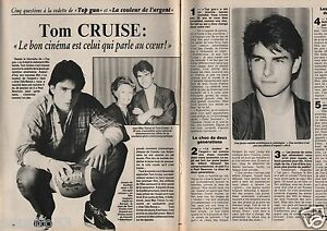 Coupure-de-presse-Clipping-1987-Tom-Cruise-2-pages