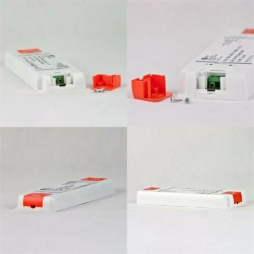 LED Trasformatore Slim 12V//24V Dc 6//12//20// 30// 50// 75W Evg Chiave Piatto
