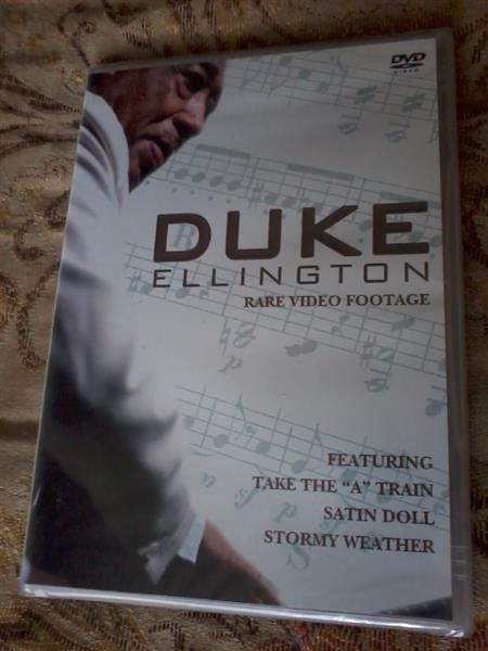 DUKE ELLINGTON Rare Video Footage DVD New & sealed POST FREE