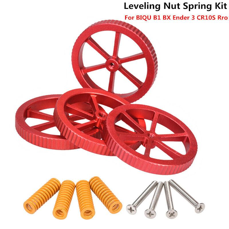 BIQU Upgraded Leveling Nut Spring Kit For BIQU B1 BX Ender 3 Heated Bed Platform