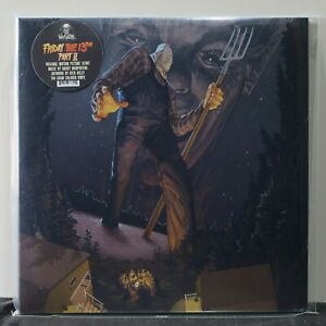 039-FRIDAY-THE-13TH-Part-2-039-Soundtrack-Ltd-180g-BLUE-BLACK-WHITE-Vinyl-LP-NEW