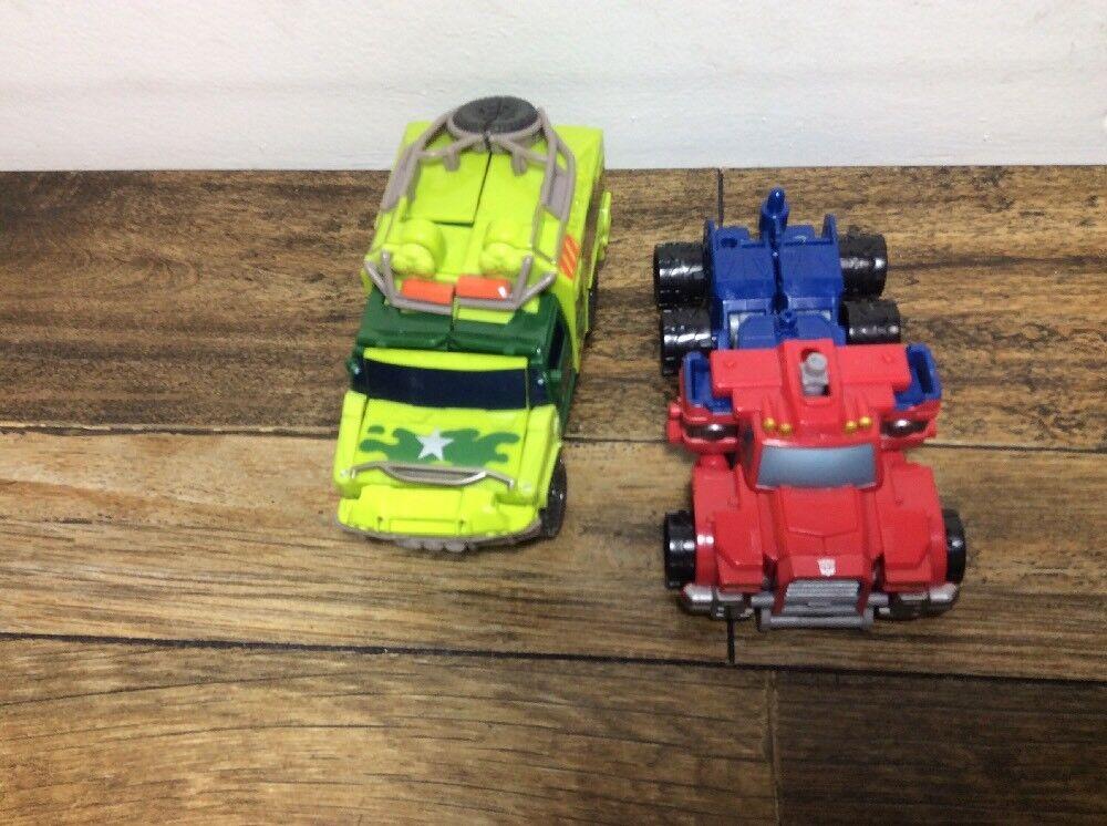 Transformers Lot- Optimus Prime, And Rachet- Transformers Action Figures