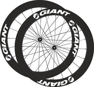 Géant Roue Stickers Autocollant 25mm-75mm Carbone Cycle