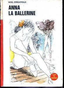 ANNA-LA-BALLERINE-N-Streatfeild-1975-Ill-Gourlier-Coll-Rouge-et-Or