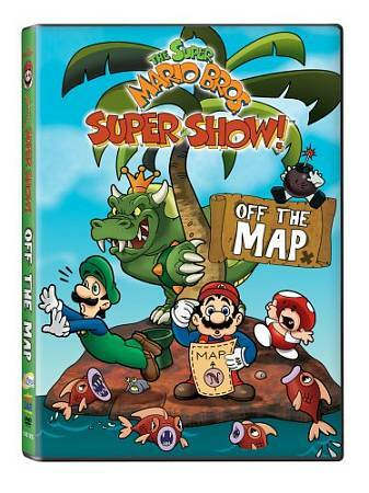 Super Mario Bros Super Show Off The Map Dvd 2009 For Sale