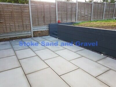 Smooth Sawn Kandla Grey 900x600 Honed Indian Sandstone Paving *Check Delivery*