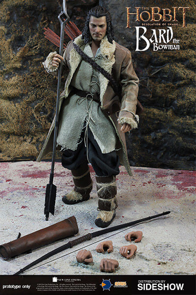 The HOBBIT: BARD the BOWMAN 1/6 Action Figure 12