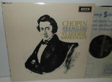 SXL 6143 Chopin Four Ballads Trois Nouvelles Etudes Vladimir Ashkenazy ED1 WBG